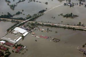 Danube floods