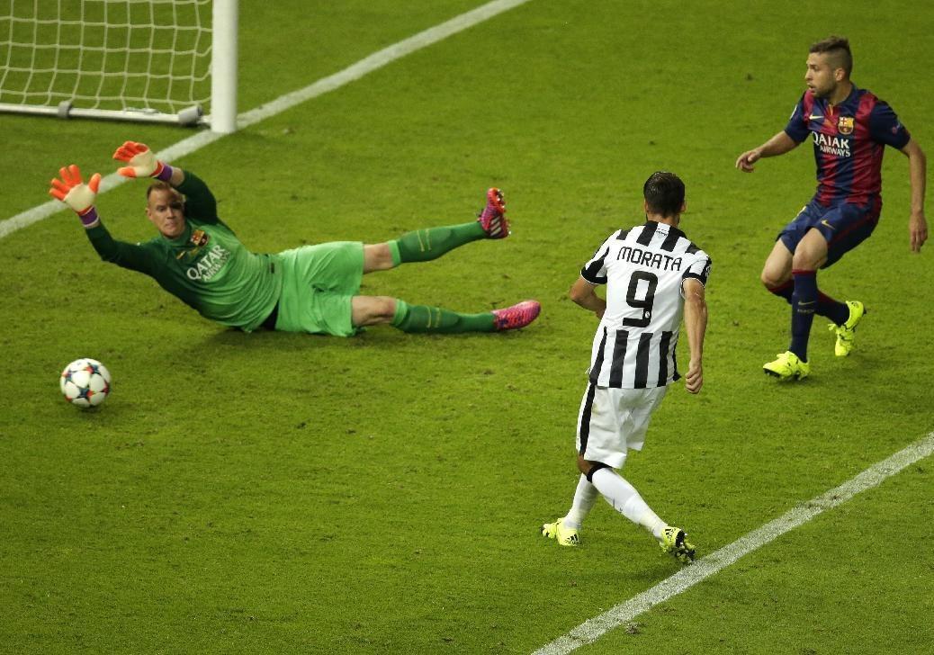 بارسلونا 3 - 1 یوونتوس؛ یووه سرانجام تسلیم شد