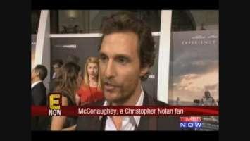 Nolan finds a fan in McConaughey